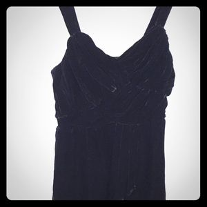 Express Black Velvet Dress Size 10